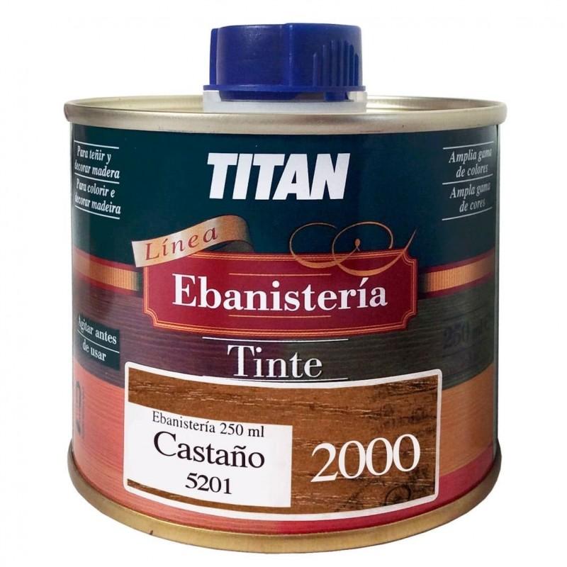 Tintes Ebanisteria 2000 Titan. Al Disolvente.