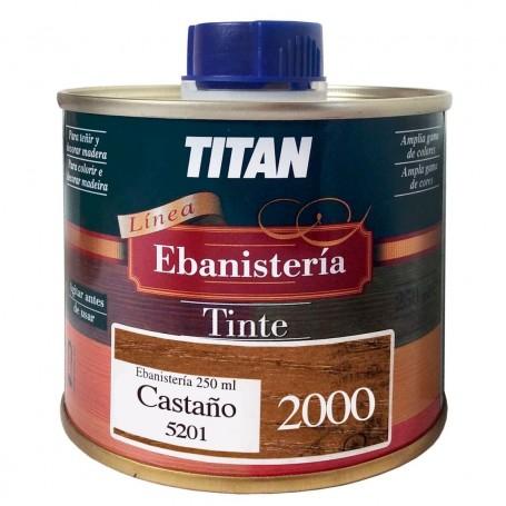Tinte Castaño Ebanisteria 2000 Titan madera