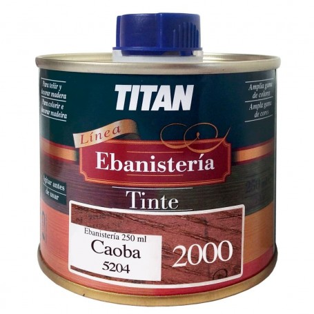 Tinte Caoba Ebanisteria 2000 Titan madera