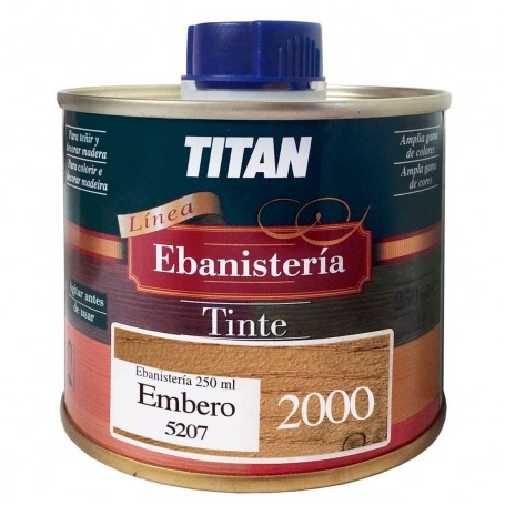 Tinte Embero Ebanisteria 2000 Titan madera