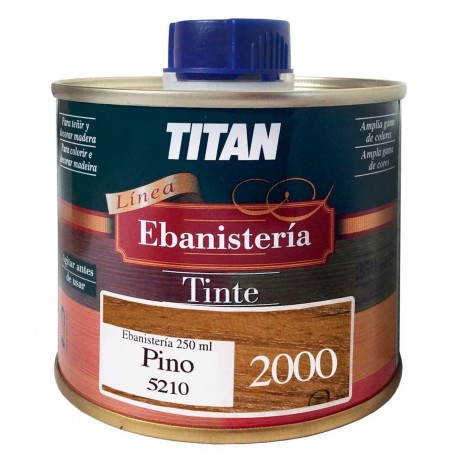Tinte Pino Ebanisteria 2000 Titan madera