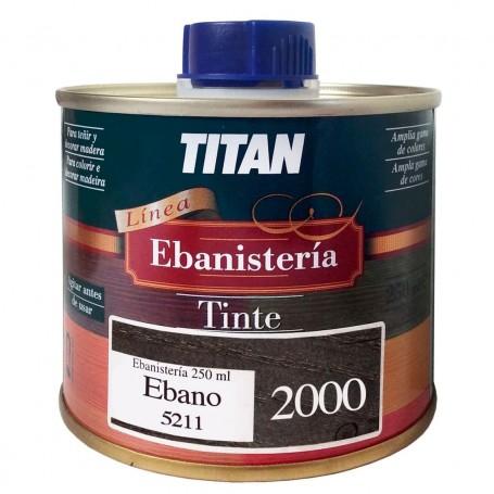 Tinte Ebano Ebanisteria 2000 Titan madera