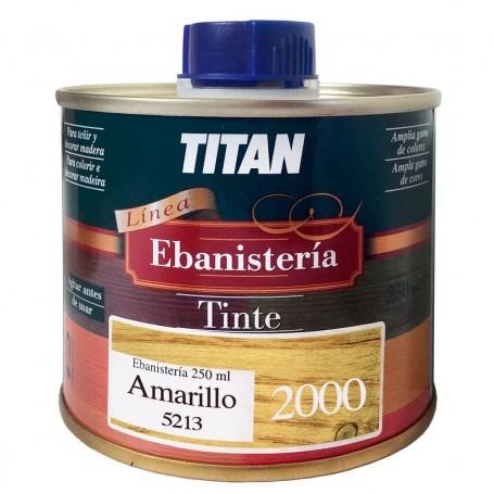 Tinte Amarillo  Ebanisteria 2000 Titan madera