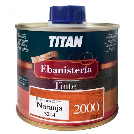 Tinte Naranja  Ebanisteria 2000 Titan madera