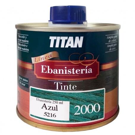 Tinte Azul  Ebanisteria 2000 Titan madera