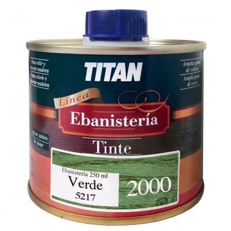 Tinte Verde  Ebanisteria 2000 Titan madera