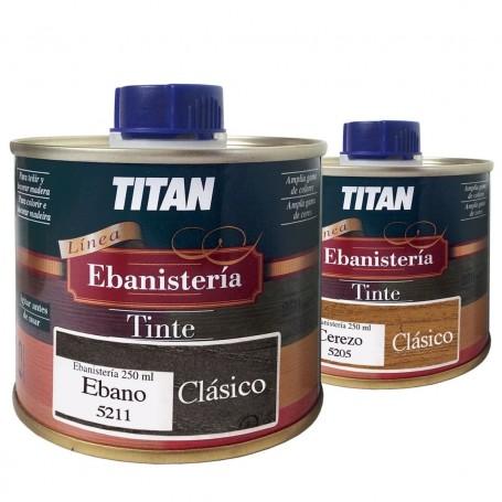 Tinte Ebanisteria Clásico Titan. Hidroalcohólico.