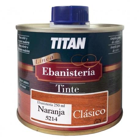 Tinte Ebanisteria Clásico Titan. Hidroalcohólico. Naranja