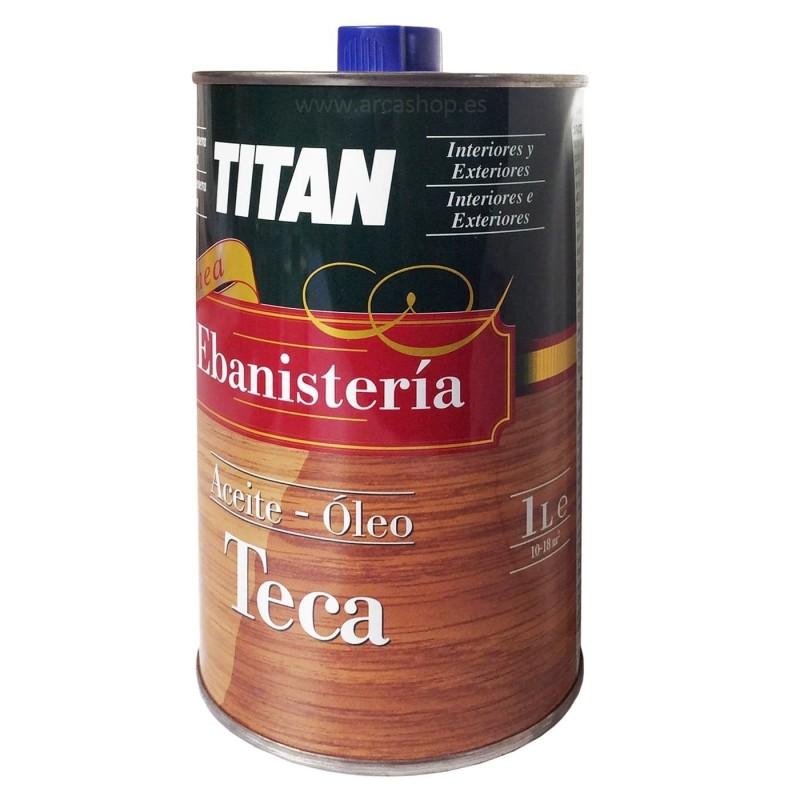 Aceite Óleo Teca Ebanistería Titan