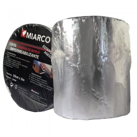 Banda impermeabilizante Alumunio teja de Butilo Miarco