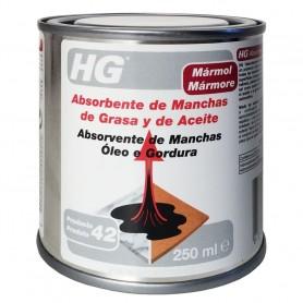 Absorbente de manchas de grasa y aceite HG limpiador de grasa sobre suelos de piedra