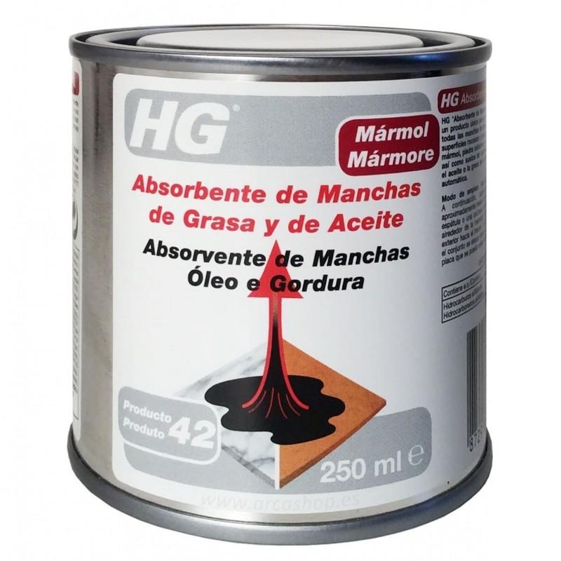 Absorbente de manchas de grasa y aceite HG