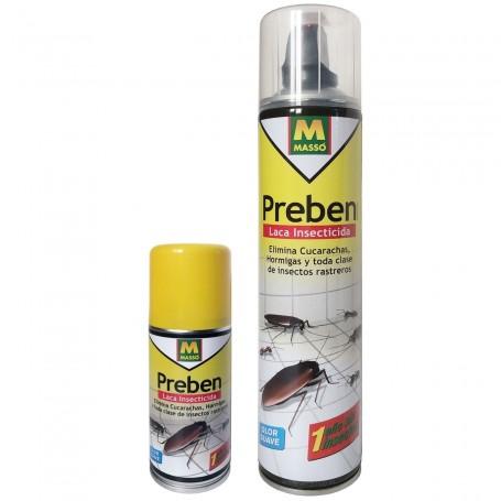 Comprar Laca Insecticida Spray Preben Massó Garden, para eliminar cucarachas, hormigas y toda clase de insectos rastreros