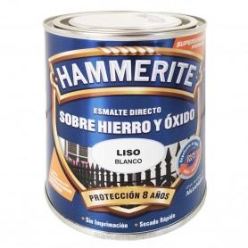Esmalte sobre hierro y óxido Hammerite - Blanco  imprimación, protección antioxidante