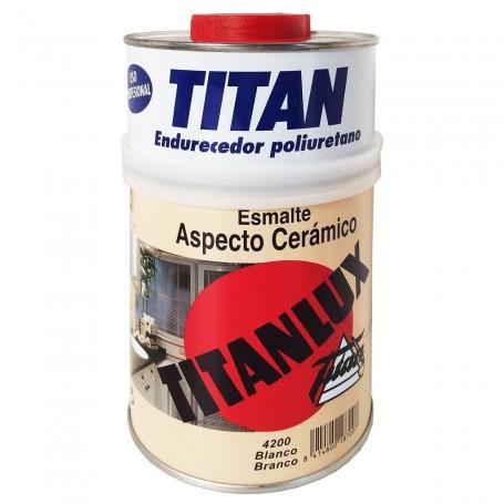 Esmalte Aspecto Cerámico Titanlux - Blanco.