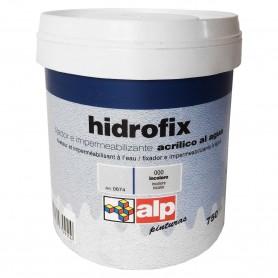 Hidrofix Fijador e Impermeabilizante Acrílico al agua ALP Imprimación antes de pintar con pintura plástica y revestimientos