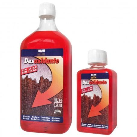 Comprar Desoxidante Multiusos Titan limpiador superficies metales, maderas, cromados y gelcoat (náutica).