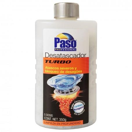 Desatascador Tuberías Turbo PASO