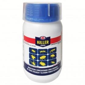 Insecticida Killer liquido moscas, mosquitos, piojos, chinches, pulgas, zancudos, cucarachas, ácaros, hormigas