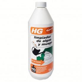Limpiador algas, verdín, verdina y musgo HG. Herbicida