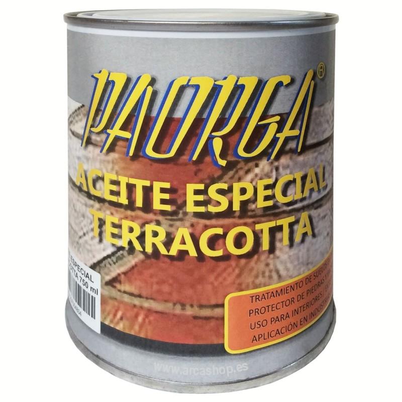 Aceite Especial Terracota Paorga Incoloro
