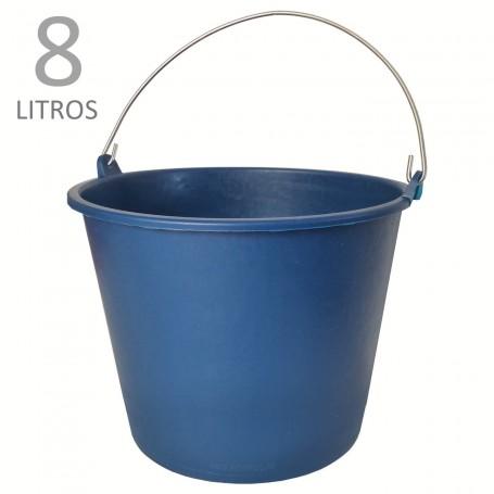 Cubo Goma Azul 8 litros: Cubos para limpieza