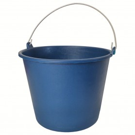 Cubo 6 litros Engomado Standard Azul. Cubo Goma Azul