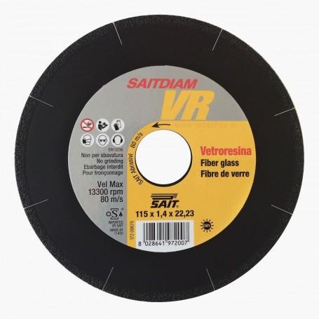 Disco fibra de vidrio Vitro Resina SAITDIAM SAIT