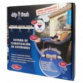 Kit Nebulización y evaporización de agua Drip&Fresh