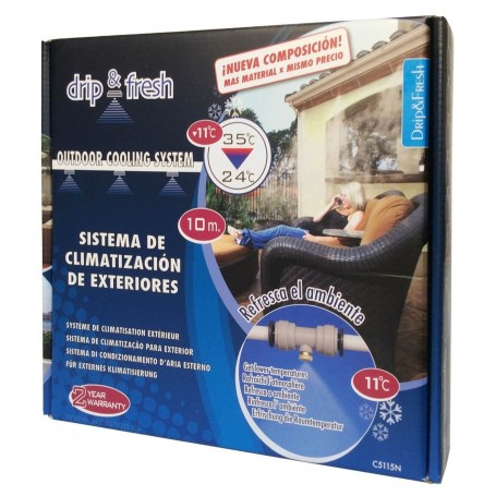 Nebulización y vaporización de agua Drip&Fresh