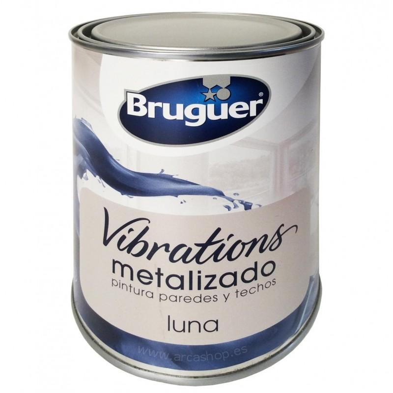 Pintura Metalizada Vibrations Luna (plata) Bruguer