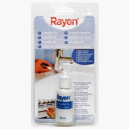 Esmalte Reparación acabado Cerámico Rayen. Blanco. Pintura reparación electrodomésticos