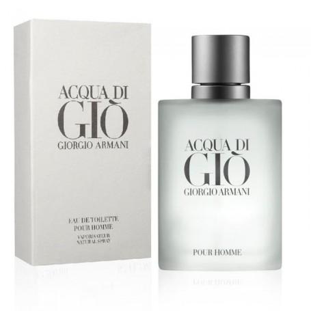 Acqua di Gio Armani Homme EDT, para un hombre seguro y difícil de cautivar.