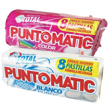 Puntomatic Detergente ropa blanca y color.