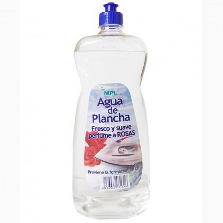 Agua de Plancha de Vapor MPL con perfume de rosas