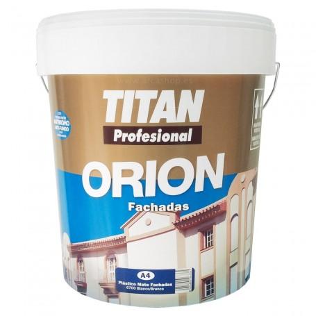 Tintan Orion. Pintura Plástica interior/Exterior Blanca