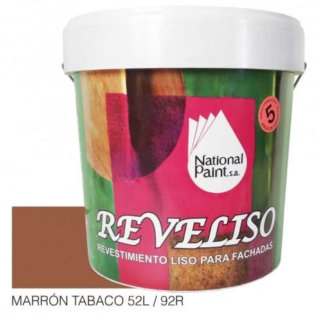 Marrón Tabaco Pintura Plástica Revestimiento Color. Pintura Fachadas