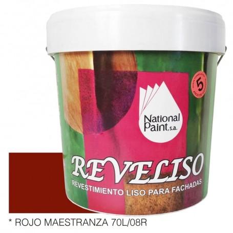 Rojo Maestranza Tabaco Pintura Plástica Revestimiento Color. Pintura Fachadas