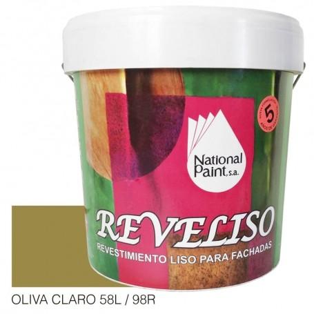 Oliva Claro Tabaco Pintura Plástica Revestimiento Color. Pintura Fachadas
