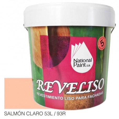 Salmón Claro Pintura Plástica Revestimiento Color. Pintura Fachadas