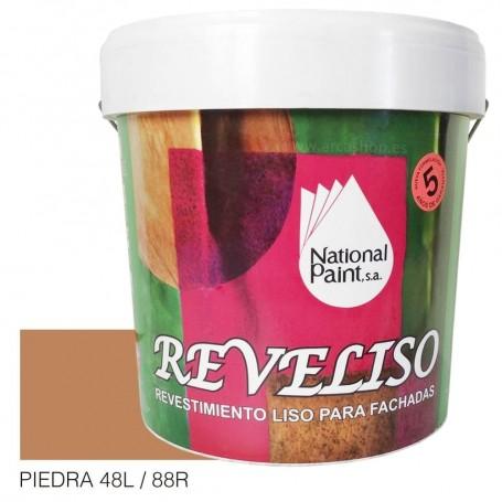 Piedra Pintura Plástica Revestimiento Color. Pintura Fachadas