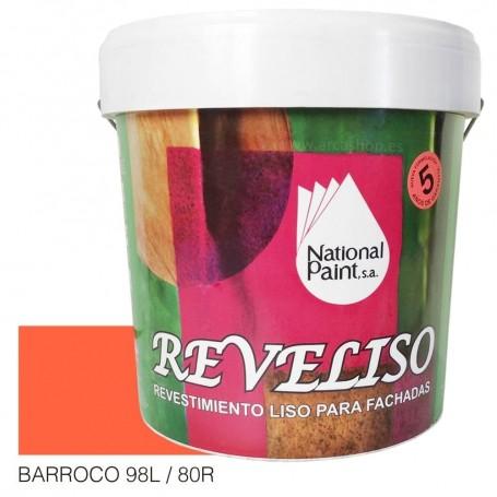 Barroco Pintura Plástica Revestimiento Color. Pintura Fachadas