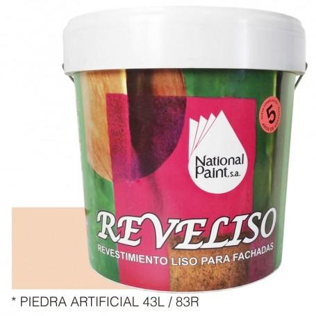 Piedra artificial REVELISO. Pintura Plástica Exterior Color.