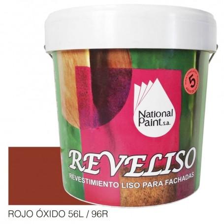 Rojo Oxido REVELISO. Pintura Plástica Exterior Color.