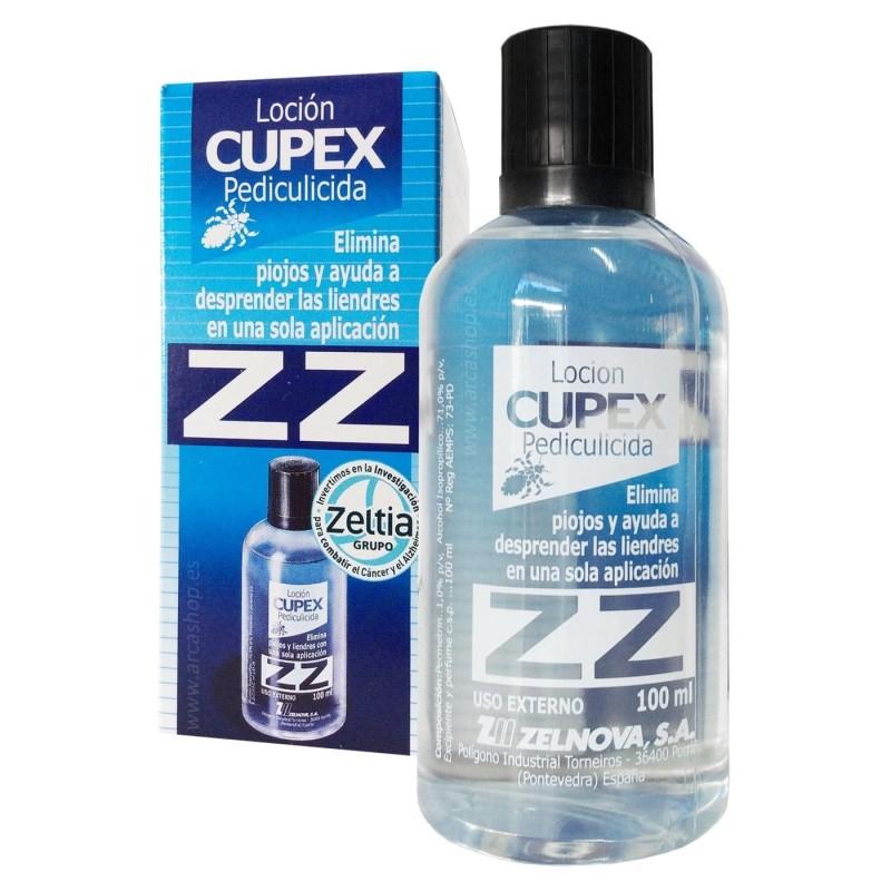 Loción antipiojos ZZ CUPEX. Pediculicida
