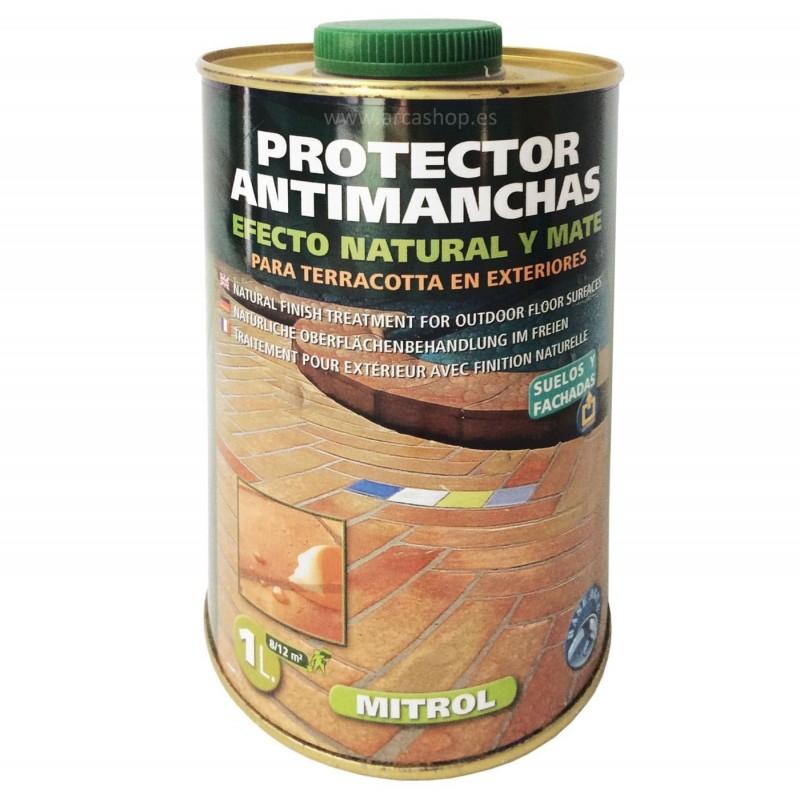 Mitrol - Protector Suelos Antimanchas. Mitrol Efecto Natural Mate y Mitrol Wet Efecto Mojado.