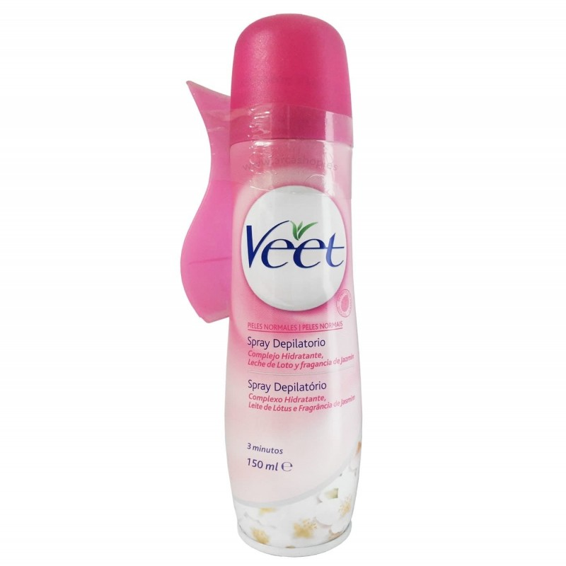 Spray Depilatorio Veet - Pieles Normales.