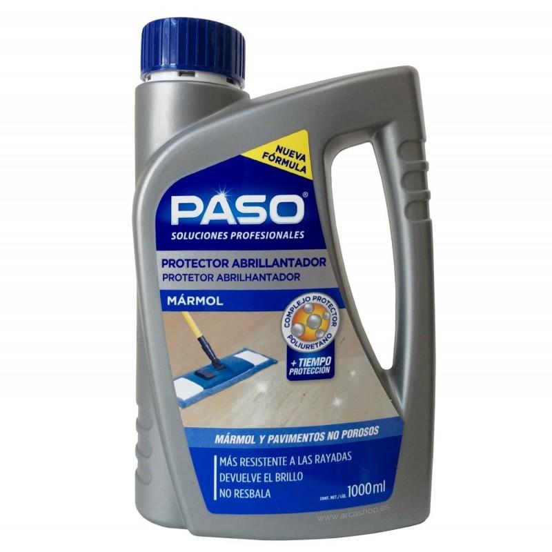 Abrillantador Protector Suelos PASO. Mármol y suelos no porosos.