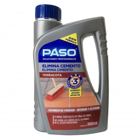 Elimina Cemento sobre Terracota y suelos no porosos. Paso Profesional