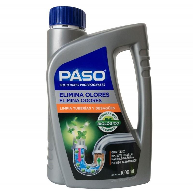 Elimina Olores y limpia tuberías y desagües. Paso Profesional.